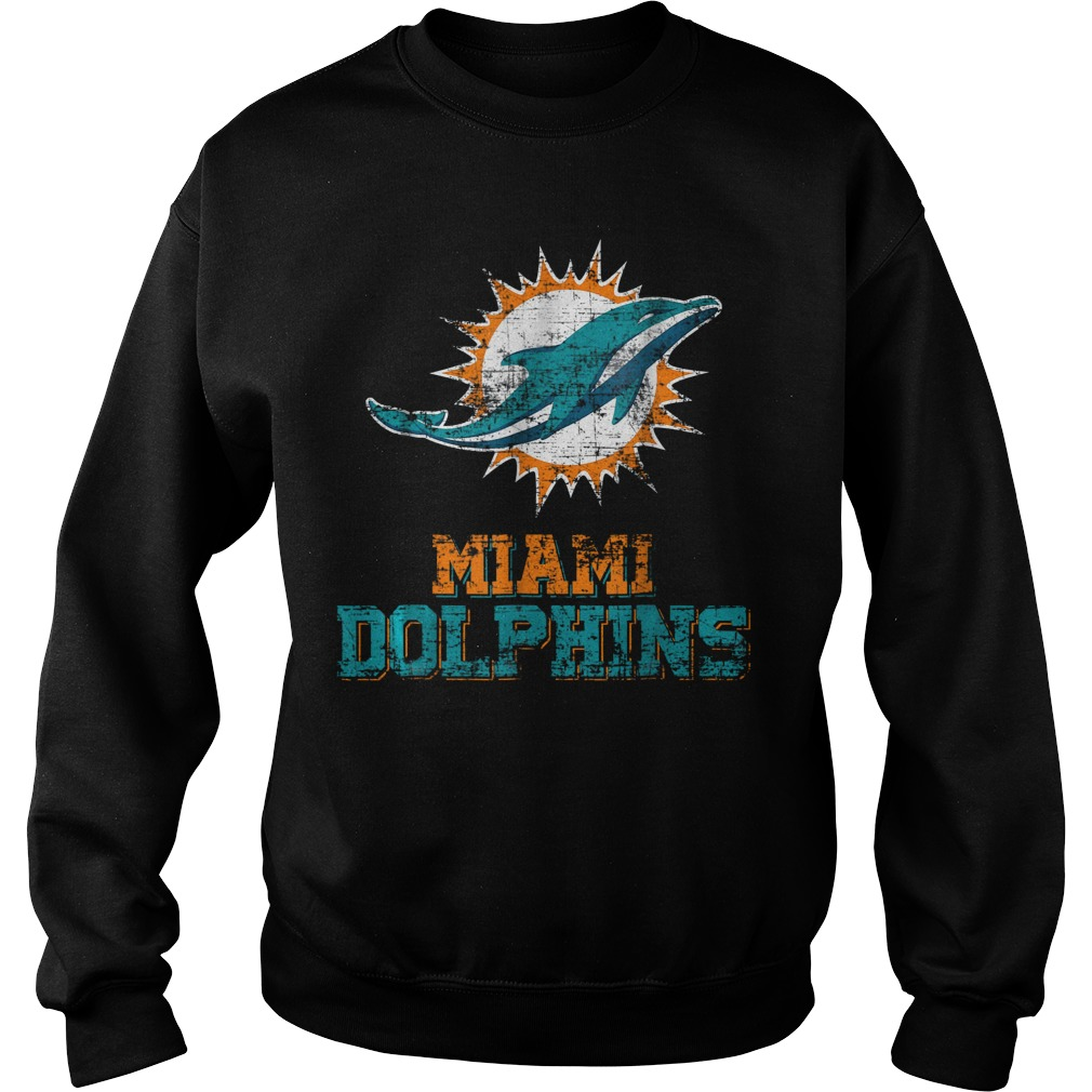 Retro Miami Dolphin Vintage Cute Sweater
