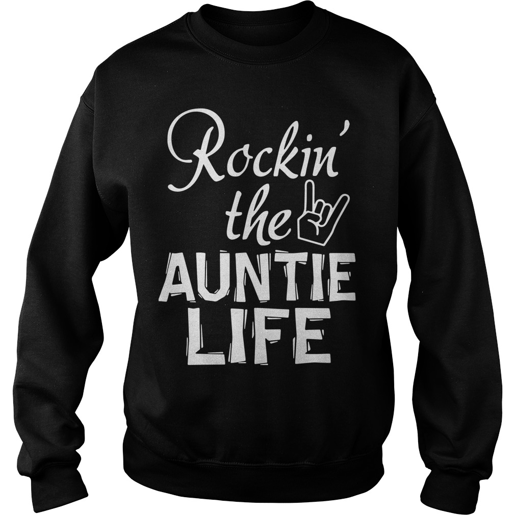 Rocking The Auntie Life Sweater