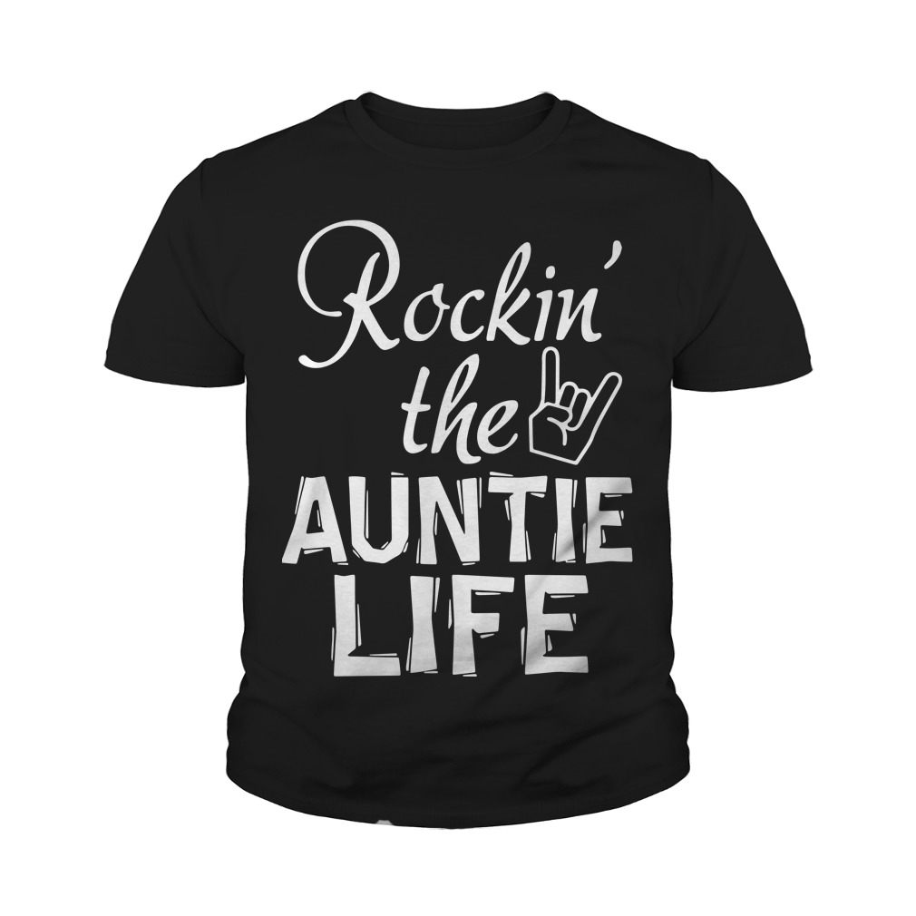 Rocking The Auntie Life Youth Tee