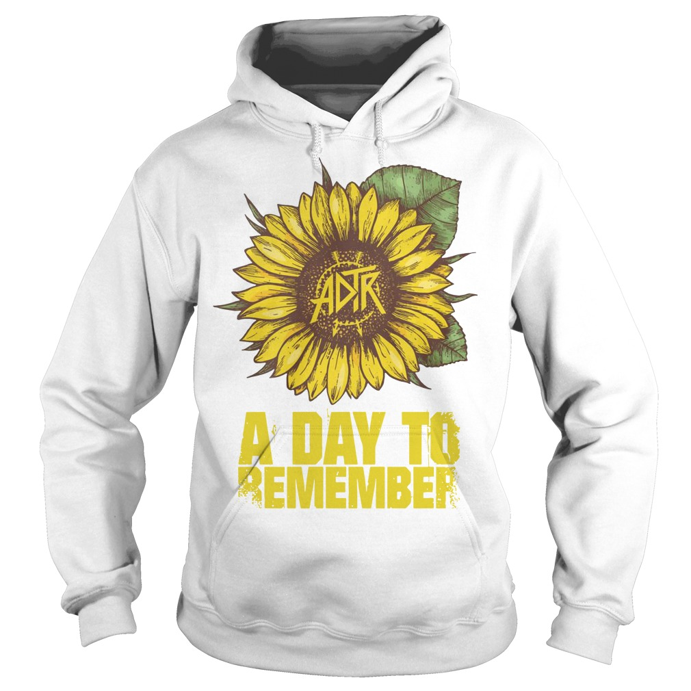 Sunflower A Day To Remember Hoodie