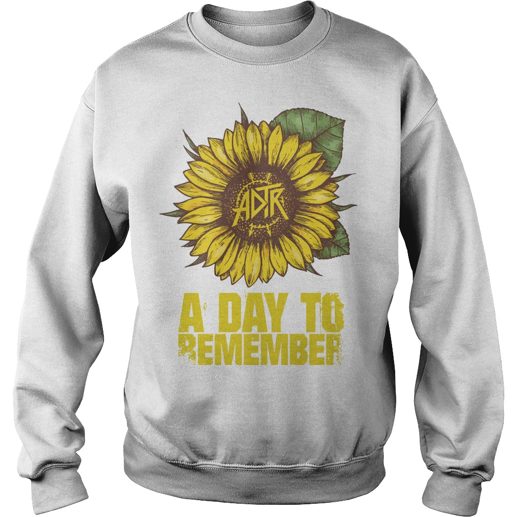 Sunflower A Day To Remember Sweater