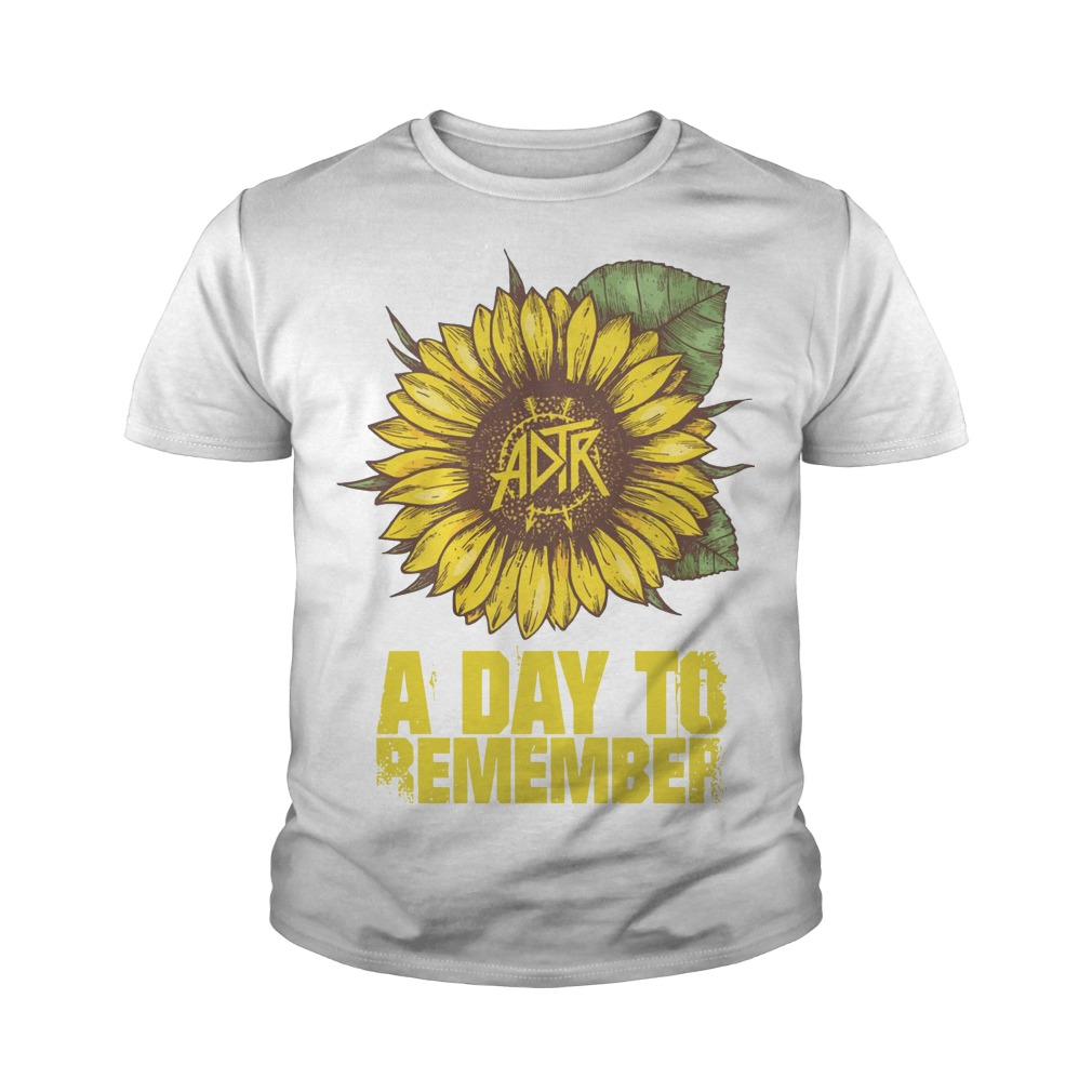 Sunflower A Day To Remember Youth Tee