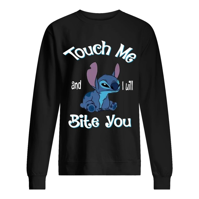 Stitch Touch Me And I Will Bite You Sweater