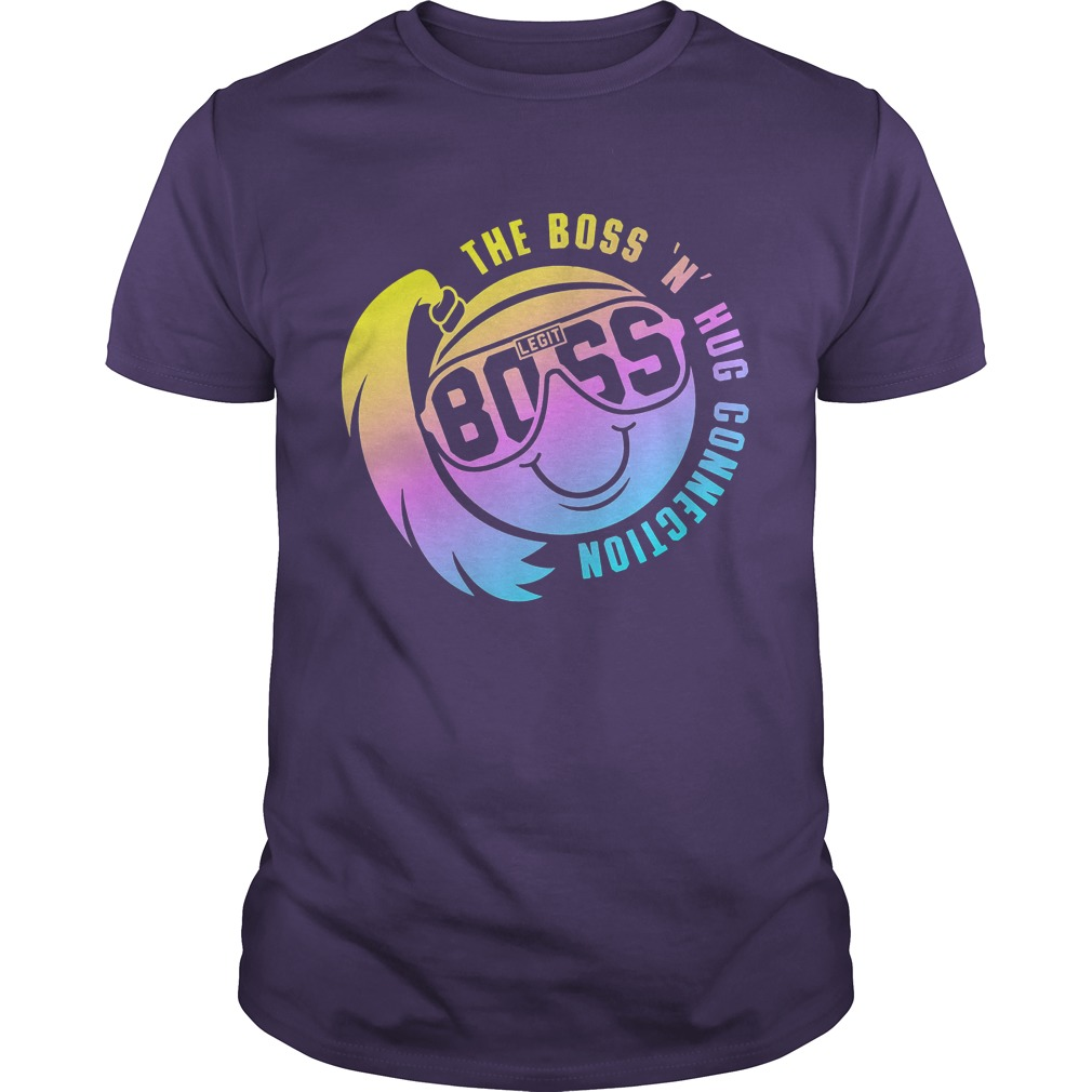 Smiley Face The Boss N Hug Connection Shirt