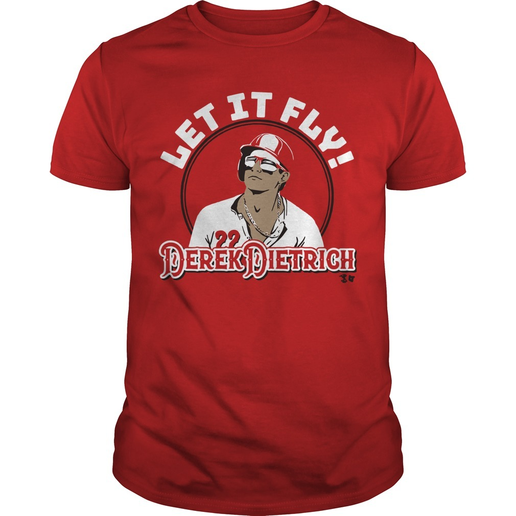 Let It Fly Derek Dietrich Shirt