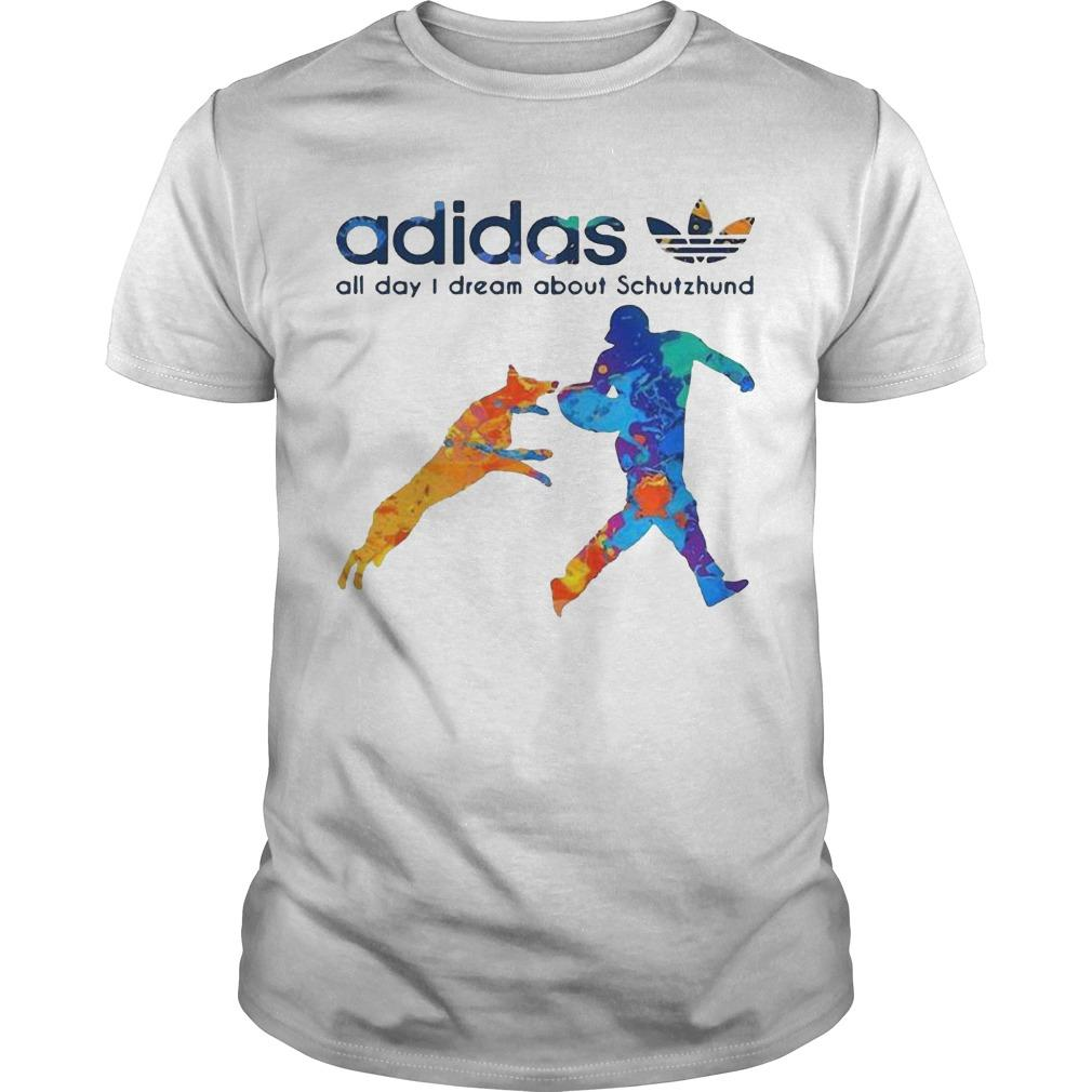 Adidas All Day I Dream About Schutzhund Shirt