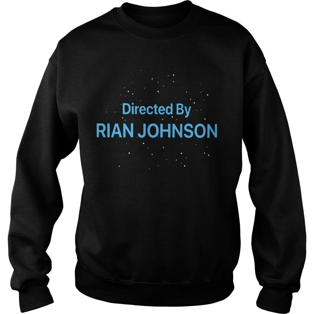 Directed By Rian Johnson Sweater