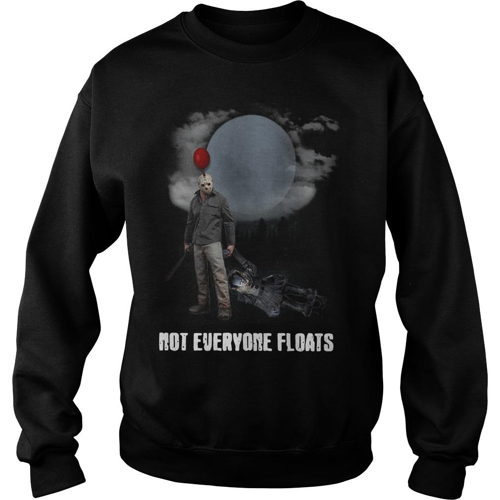 Jason Voorhees Pennywise IT Not Everyone Floats Sweater