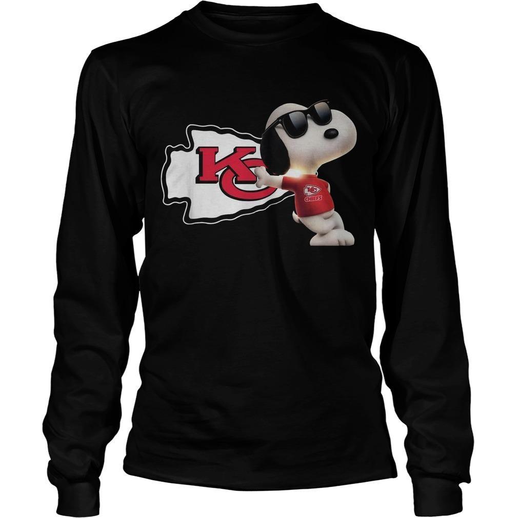 Kansas City Chiefs Snoopy Longsleeve