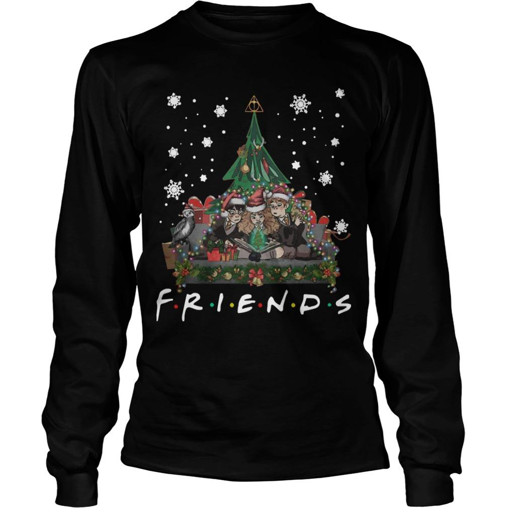 Harry Potter Christmas Shirt.Christmas Friends Harry Potter Hermione Ron Weasley Shirt