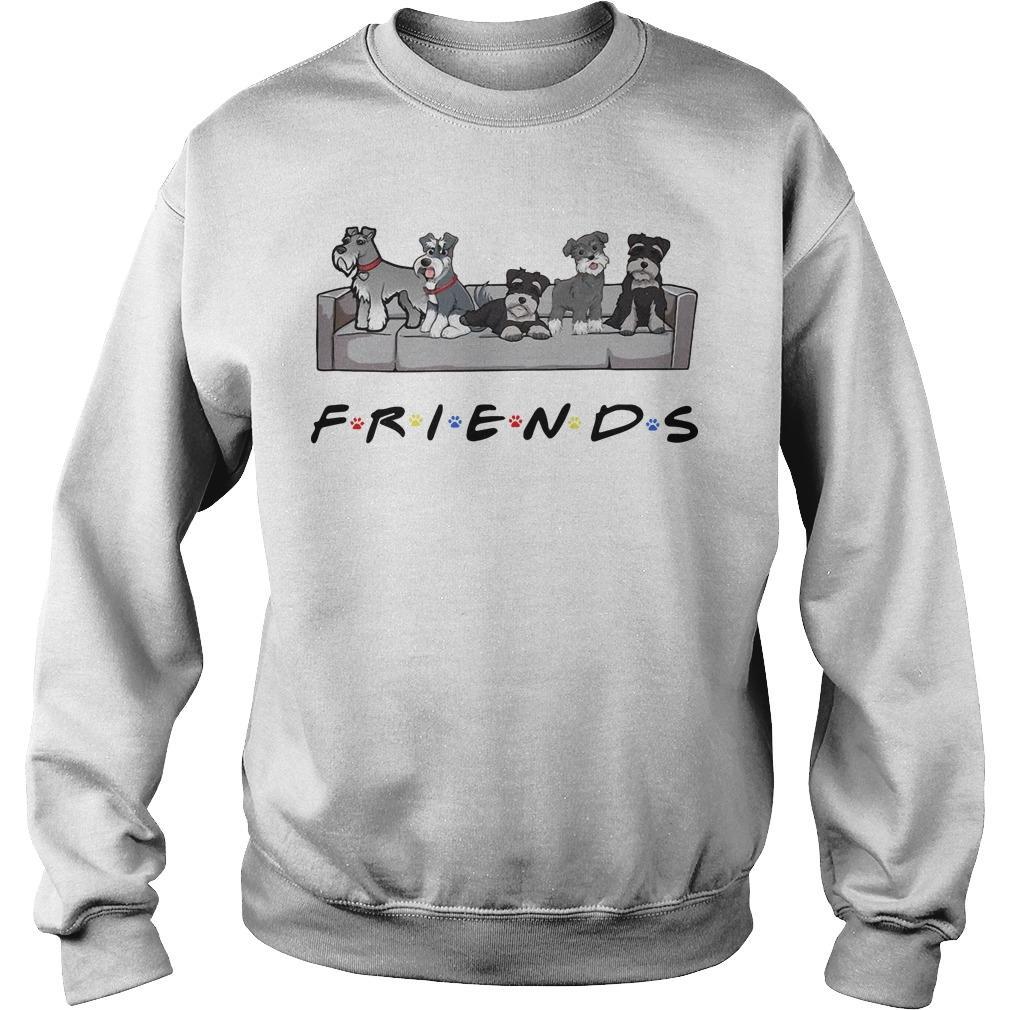 Miniature Schnauzer Tv Show Friends Sweater