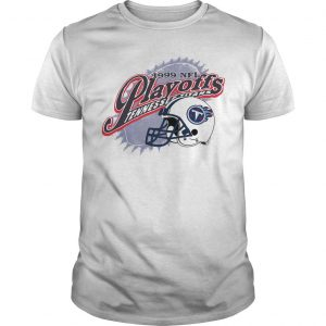 1999 Nfl Playoffs Tennessee Titans Shirt