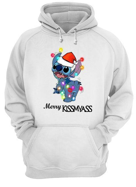 Stitch Merry Kissmyass Hoodie