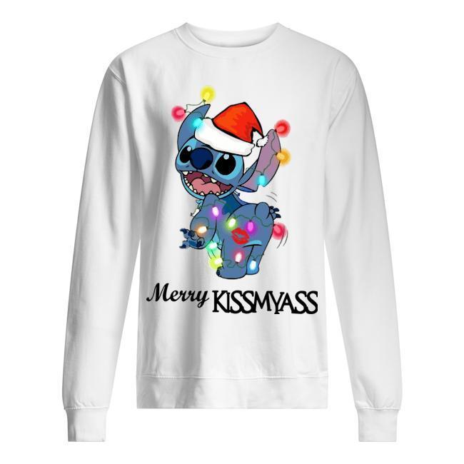 Stitch Merry Kissmyass Sweater
