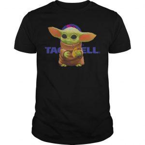 Baby Yoda Hugging Bell Shirt
