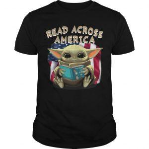 Baby Yoda Read Across America Shirt