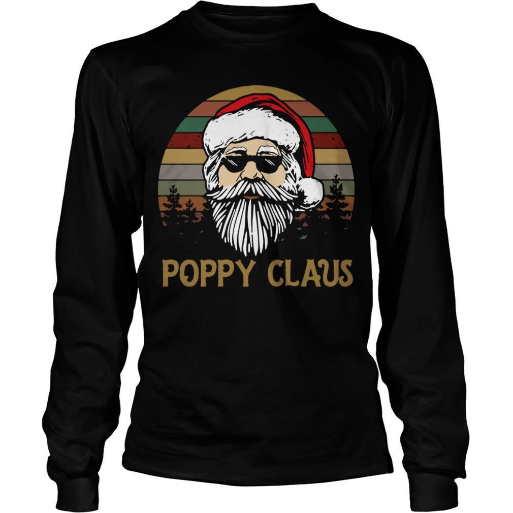 Vintage Santa Poppy Claus Longsleeve