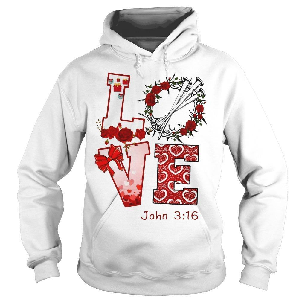 Love John 3 16 Hoodie