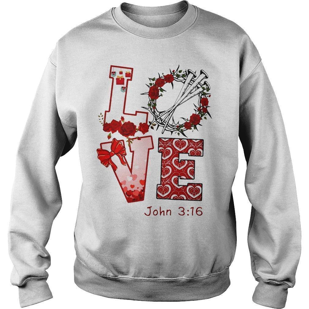 Love John 3 16 Sweater