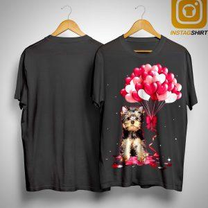 Yorkshire Terrier Love Balloons Shirt