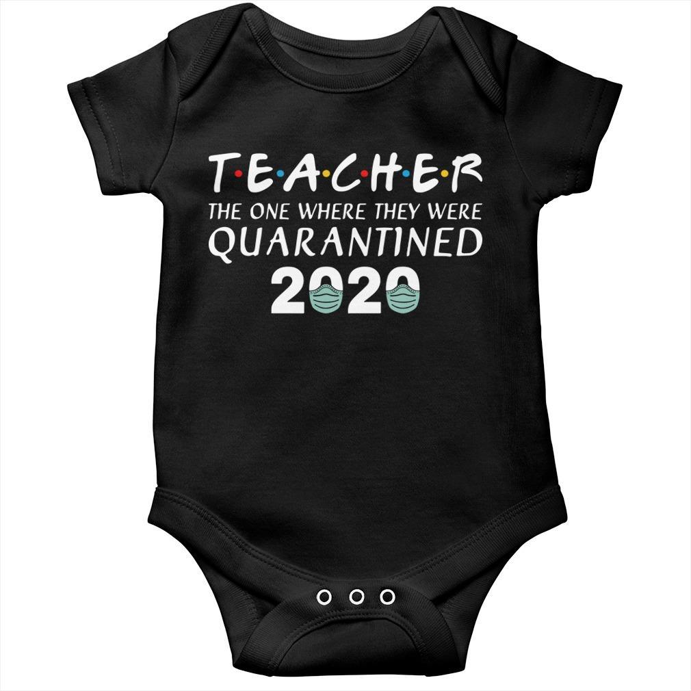 Teacher The One Where They Were Quarantined 2020 Longsleeve