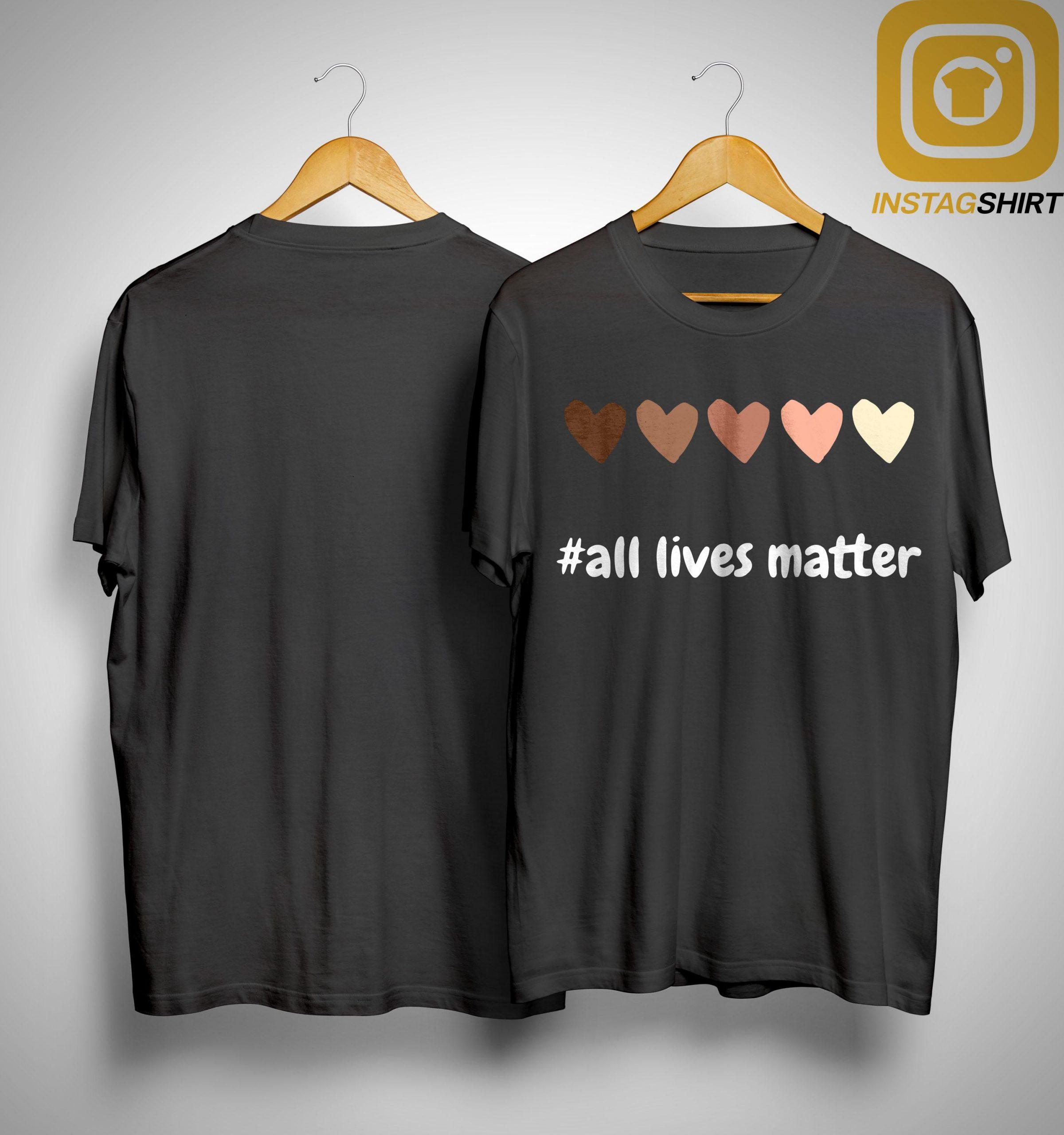 Hearts All Lives Matter Shirt