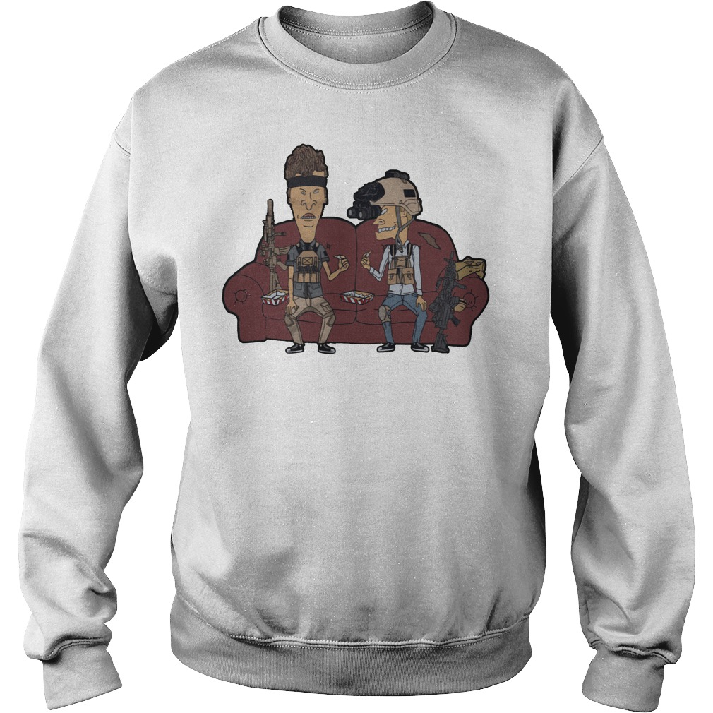 Operator Beavis And Butthead Sweater