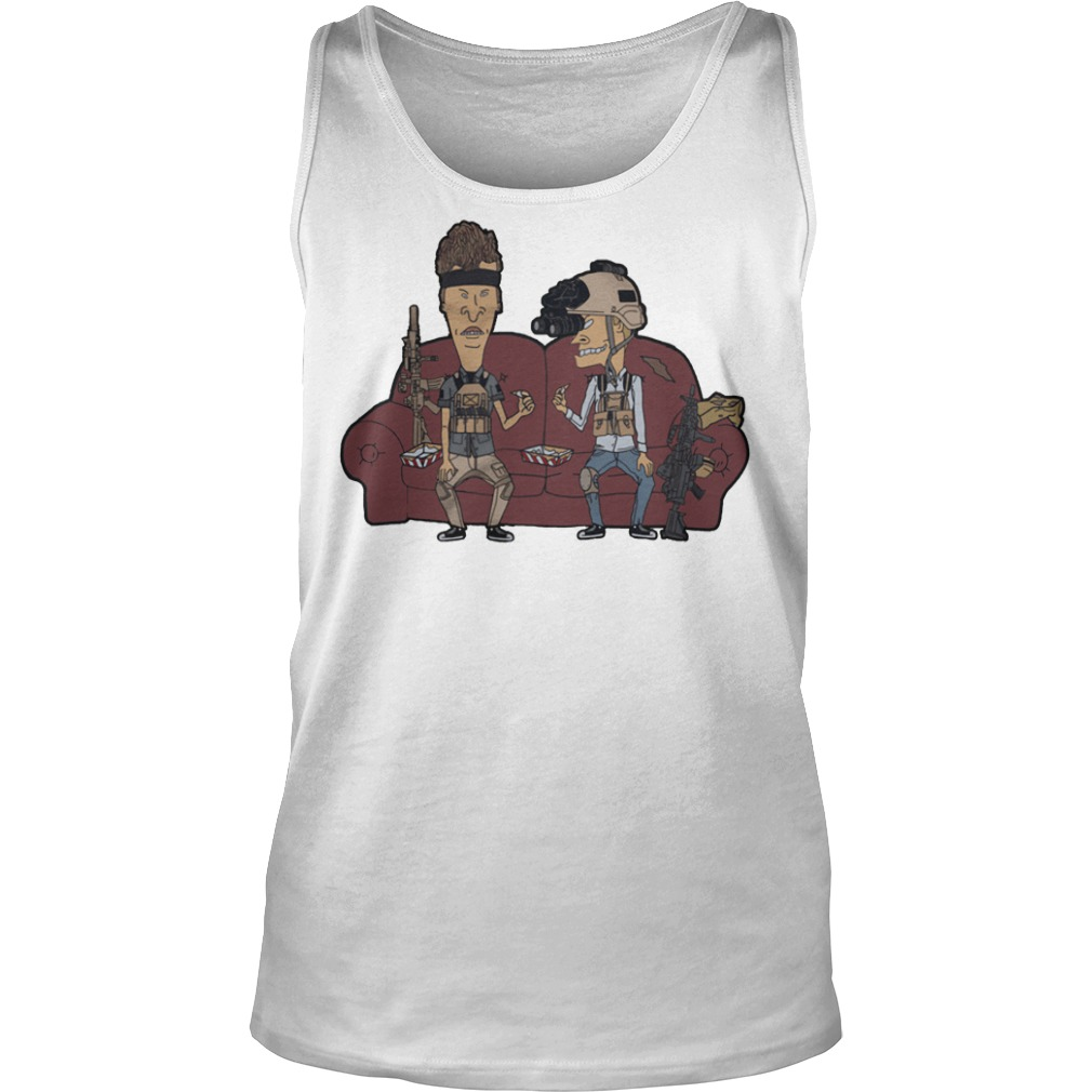Operator Beavis And Butthead Tank Top