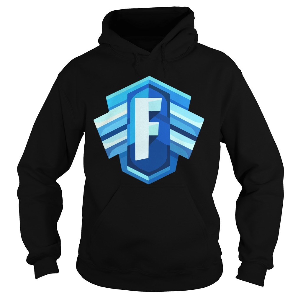 Blue Icon Logo Fortnite Battle Royale Hoodie