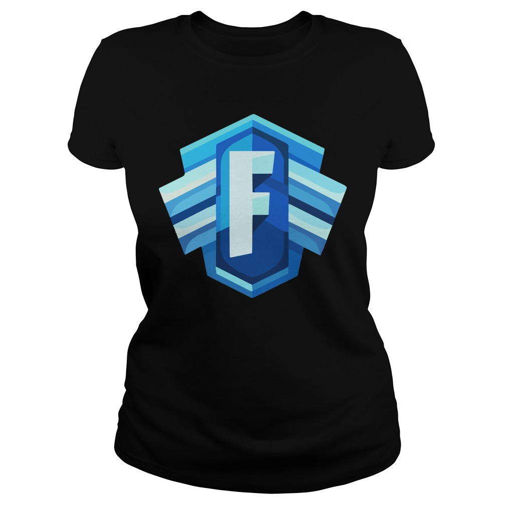 Blue Icon Logo Fortnite Battle Royale Ladies