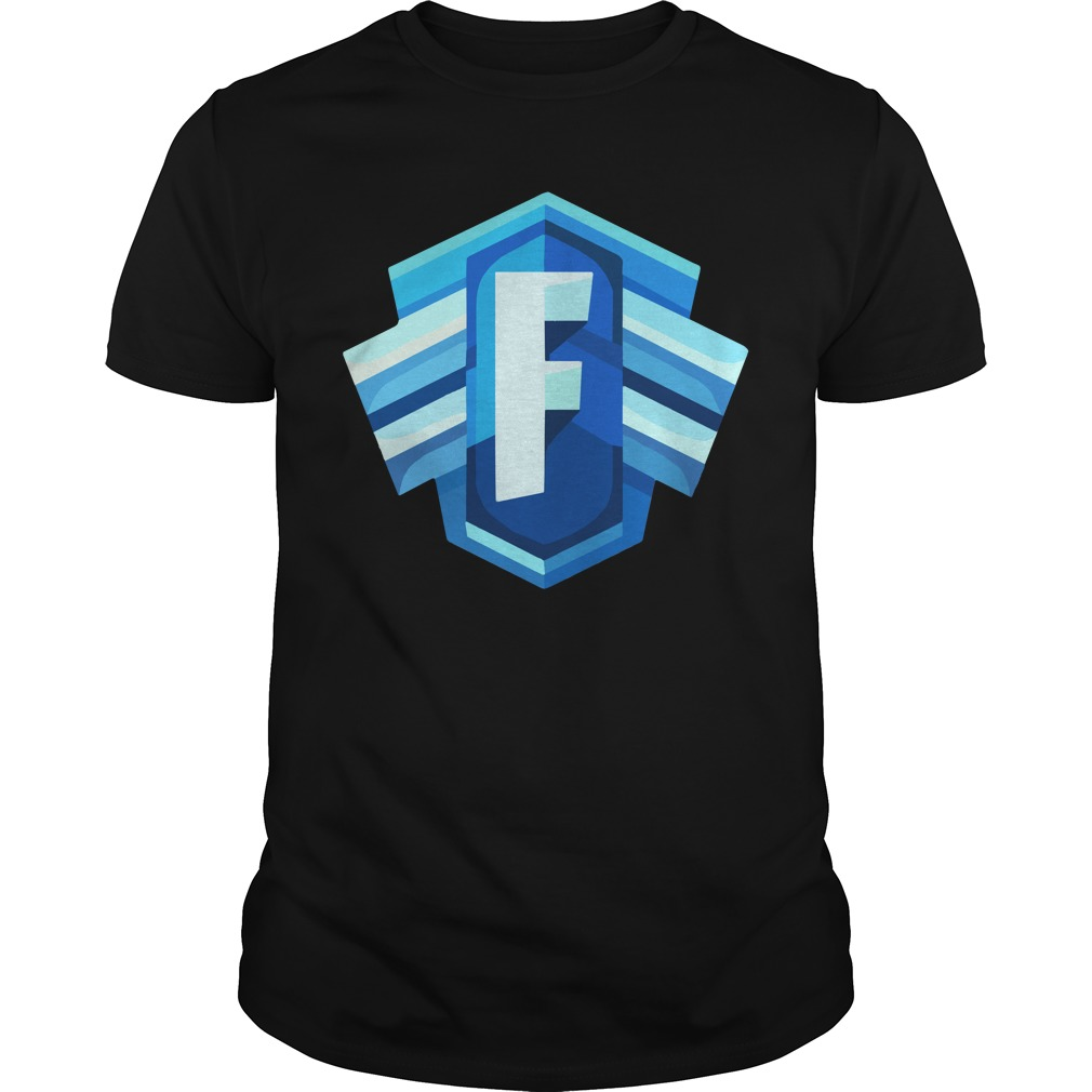 Blue Icon Logo Fortnite Battle Royale Shirt