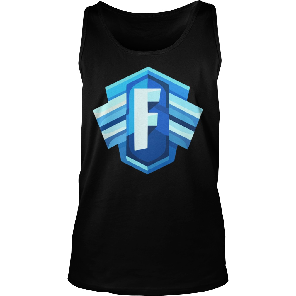 Blue Icon Logo Fortnite Battle Royale Tank Top