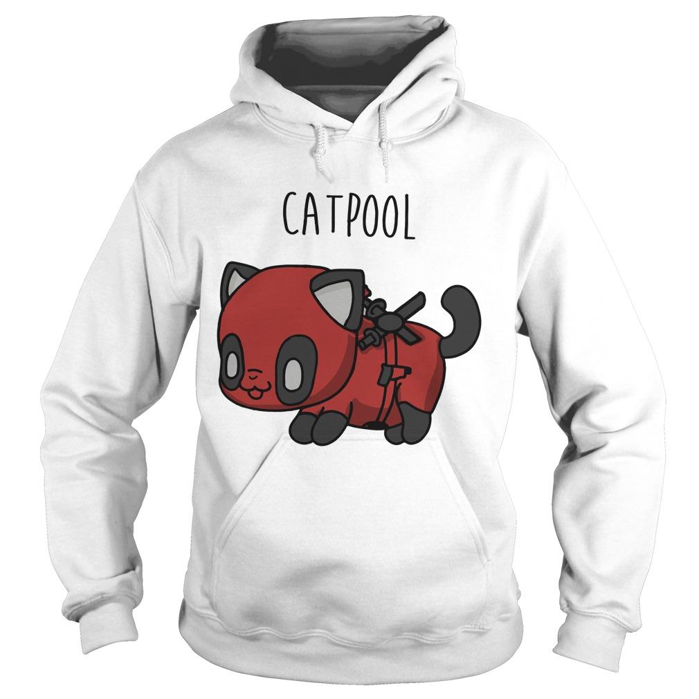 Deadpool Cat Hoodie