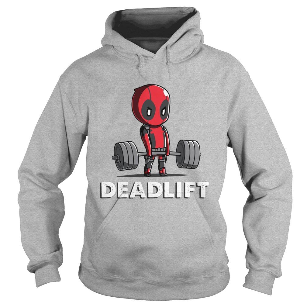 Deadpool Deadlift Hoodie