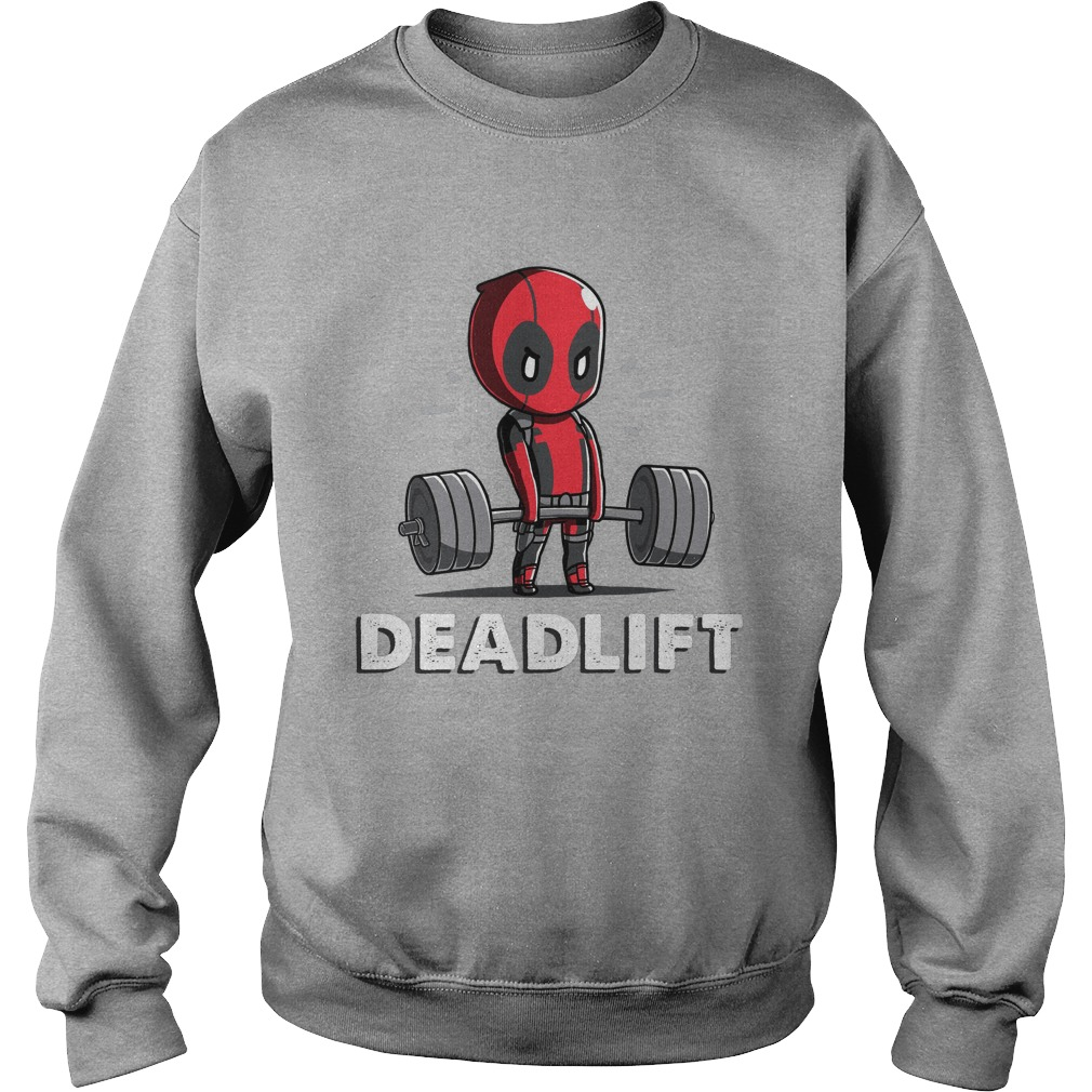 Deadpool Deadlift Sweater