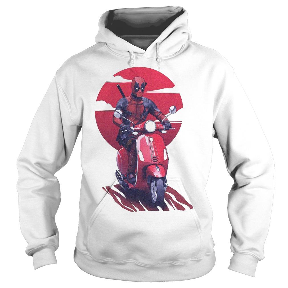 Deadpool Vespa Hoodie