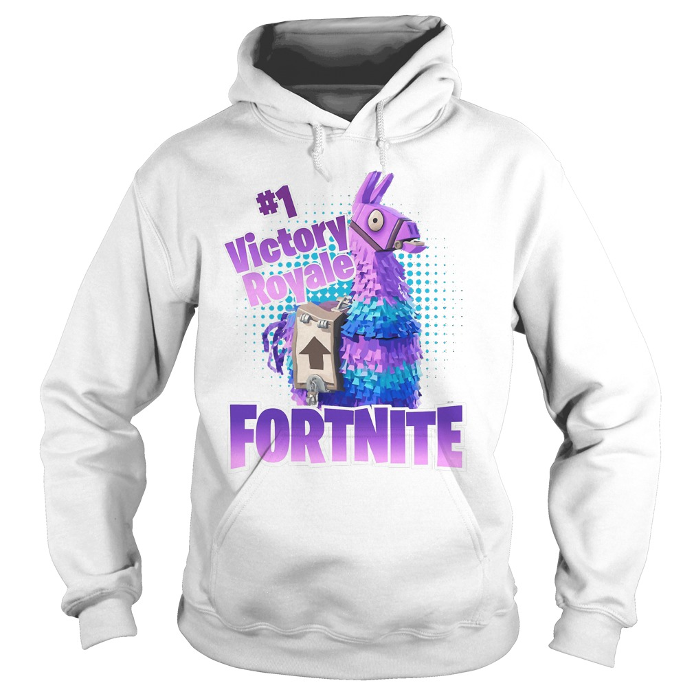 Fortnite Victory Royale Lucky Llama Hoodie