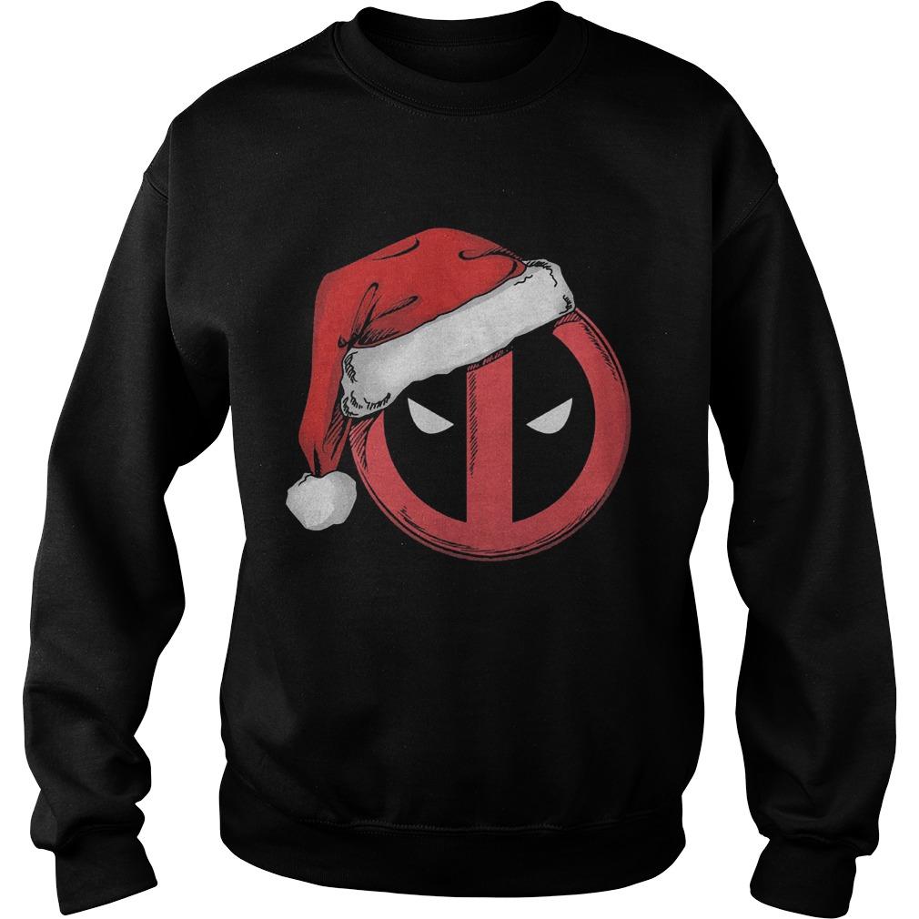 Marvel Christmas Deadpool Santa Hat Sweater