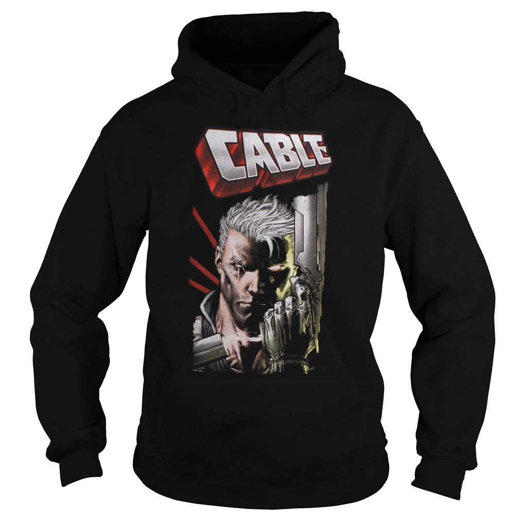 Marvel Deadpool Cable Close Up Hoodie