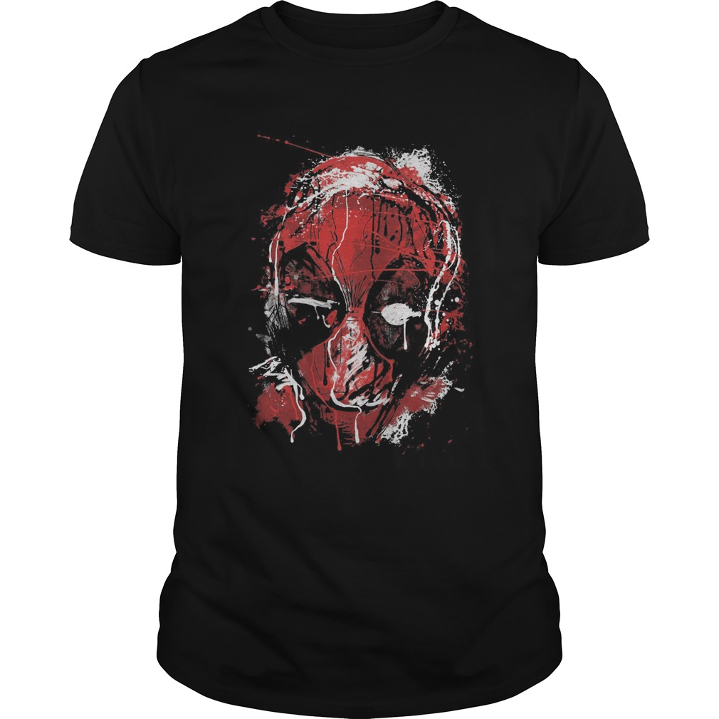 Marvel Deadpool Drip Art T Shirt