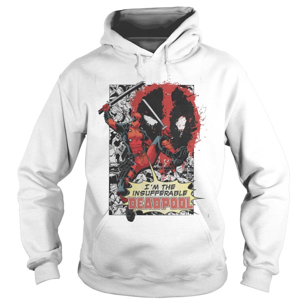 Marvel Deadpool Insufferable Hoodie