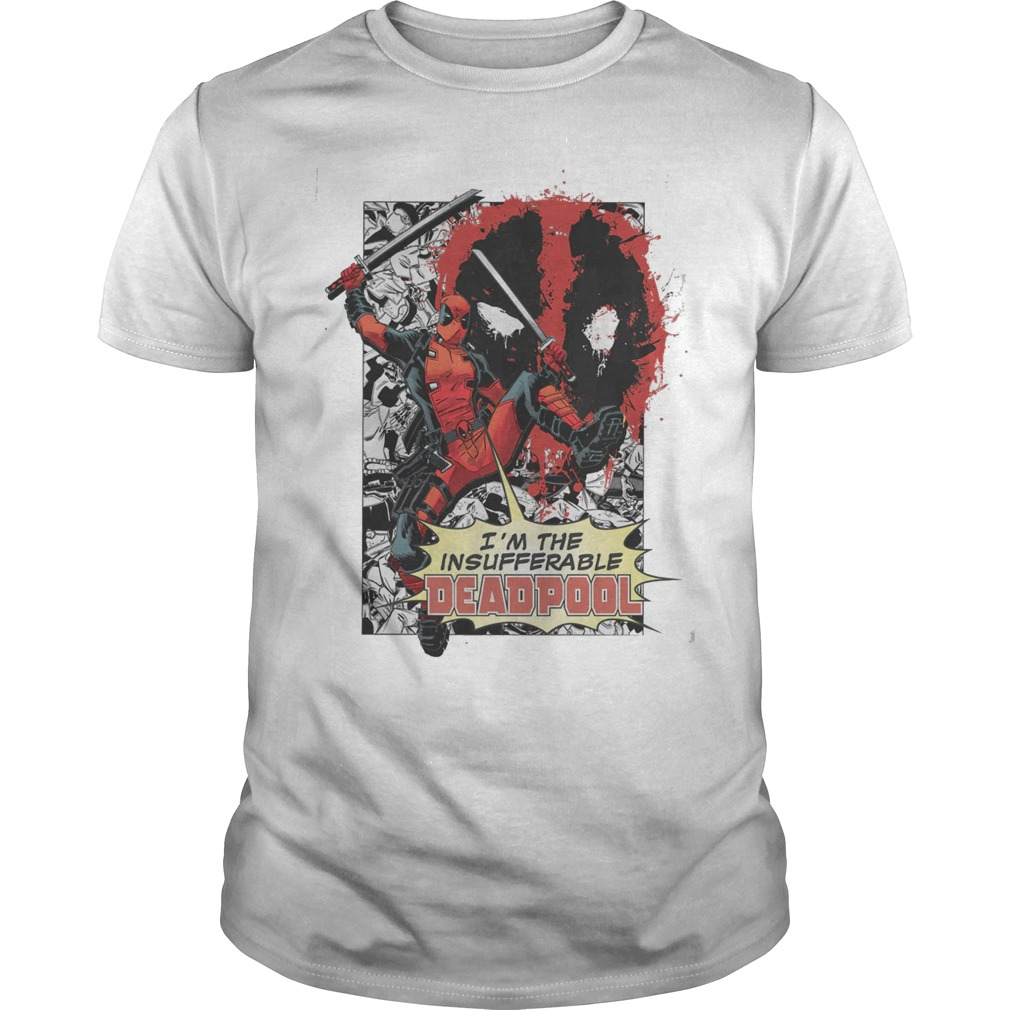 Marvel Deadpool Insufferable T Shirt