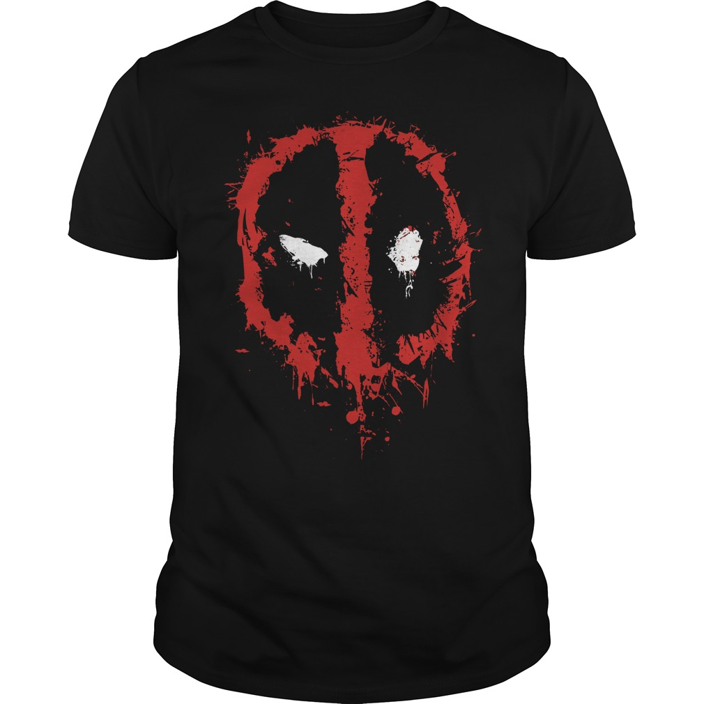 Marvel Deadpool Splatter Icon T Shirt