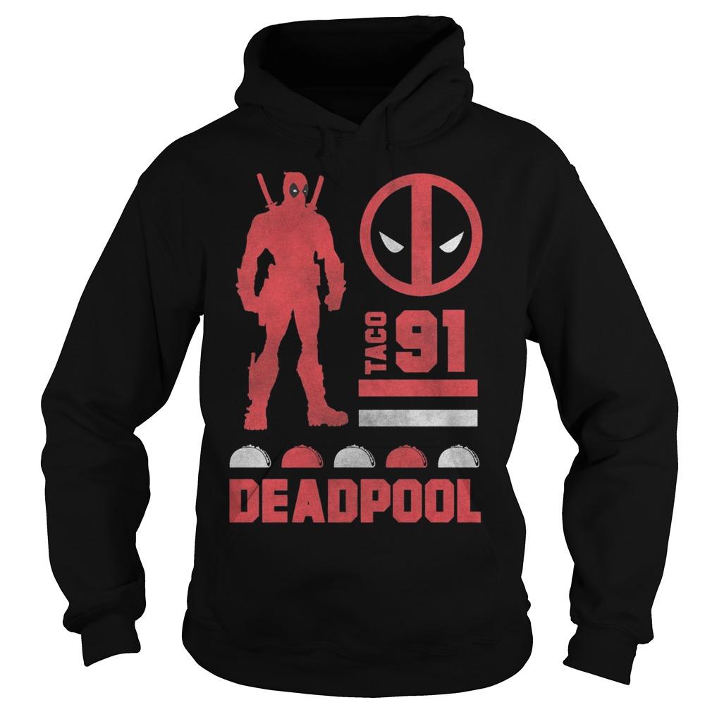 Marvel Deadpool Taco 91 Hoodie
