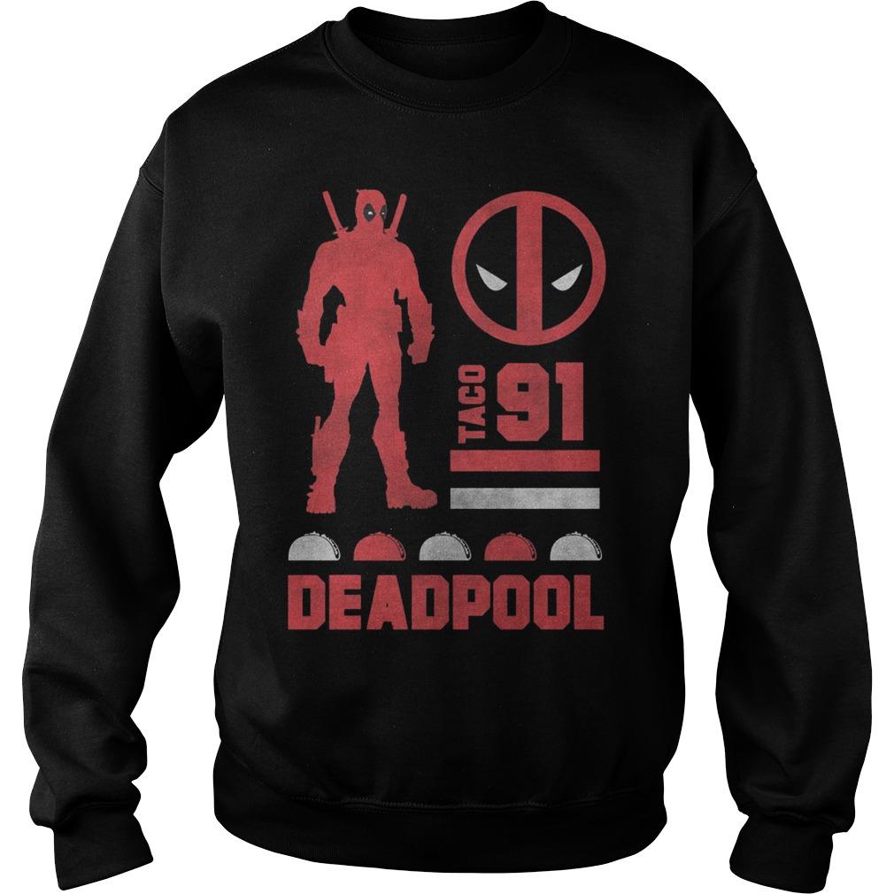 Marvel Deadpool Taco 91 Sweater