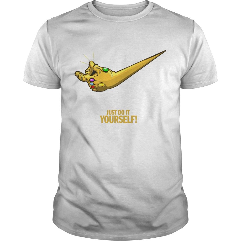 Marvel infinity gauntlet just do it yourself shirt hoodie tank top marvel infinity gauntlet just do it yourself shirt solutioingenieria Image collections