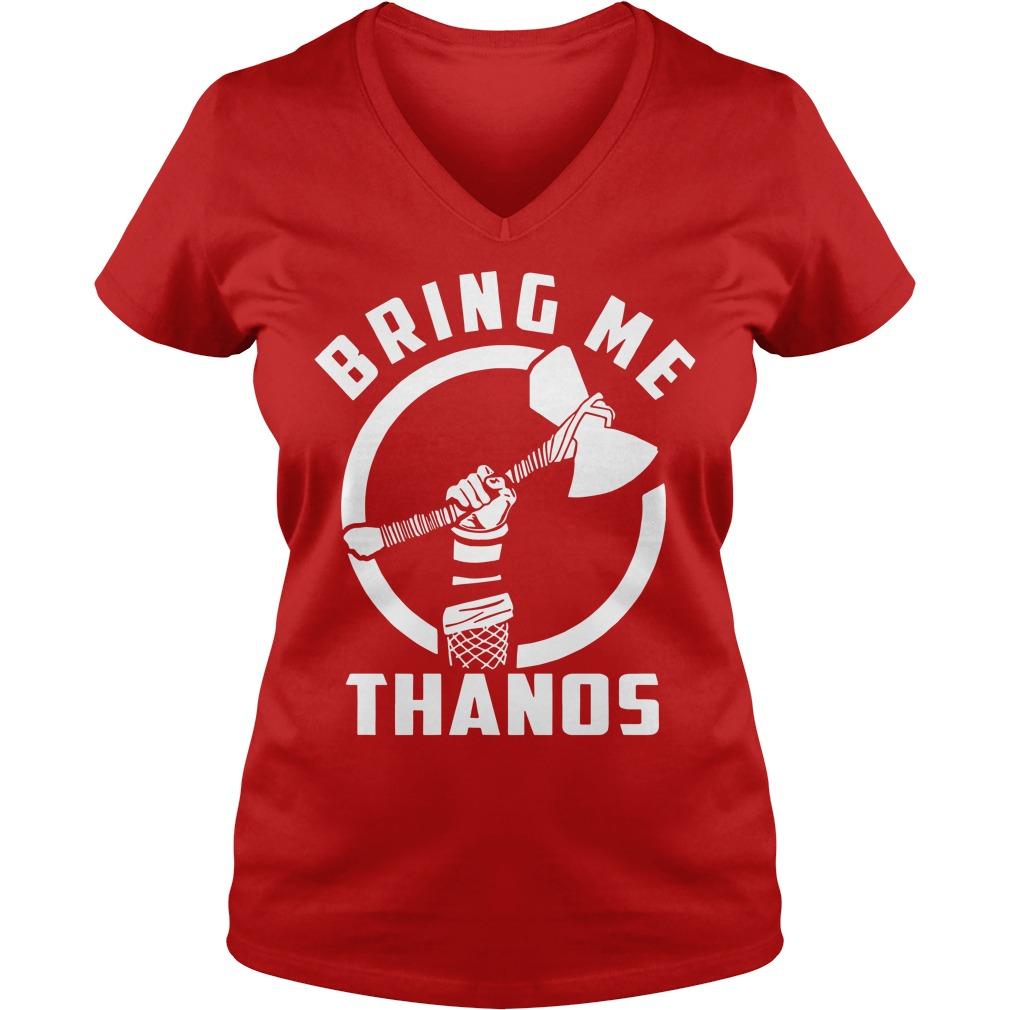 Bring Me Thanos Ladies V Neck