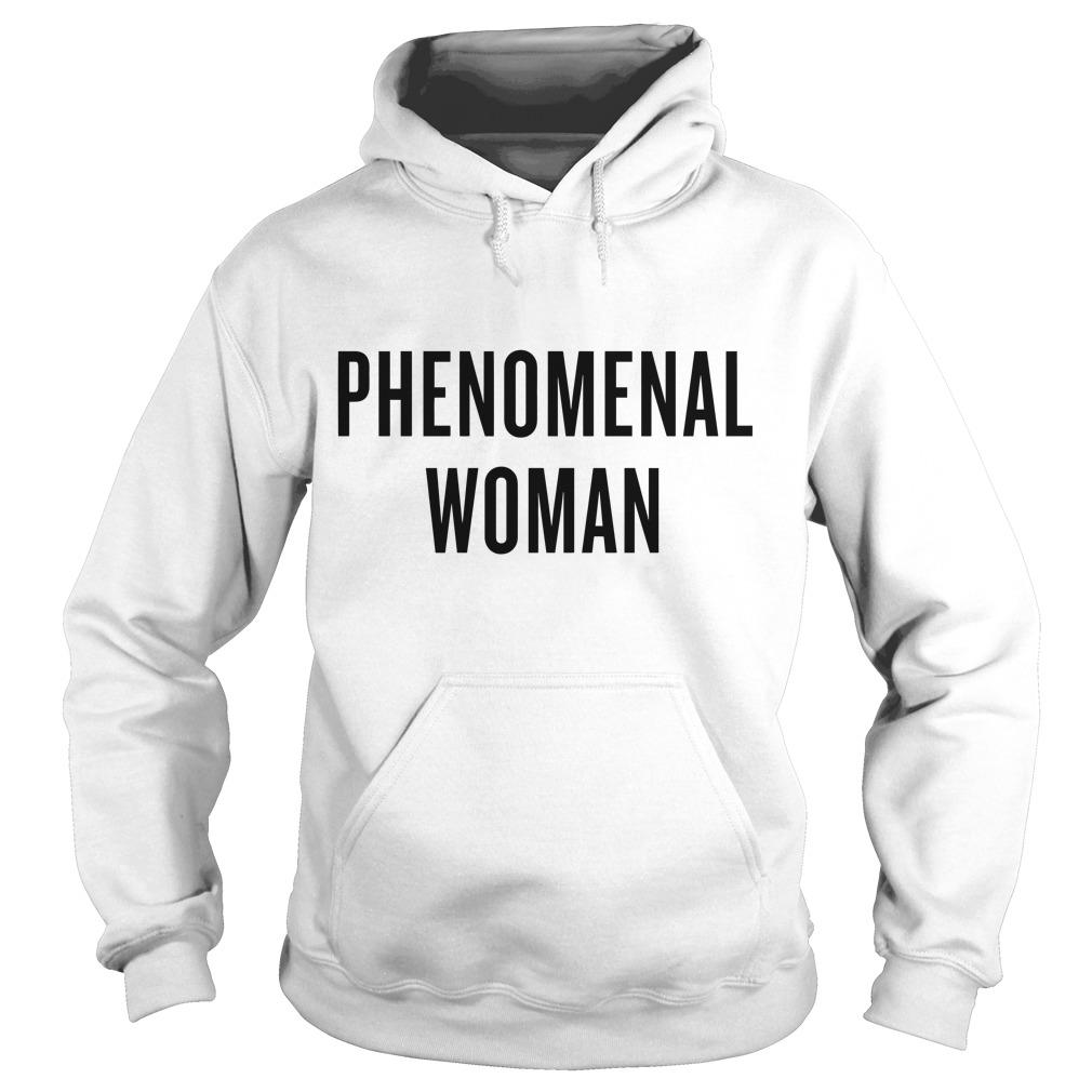 Phenomenal Woman Hoodie