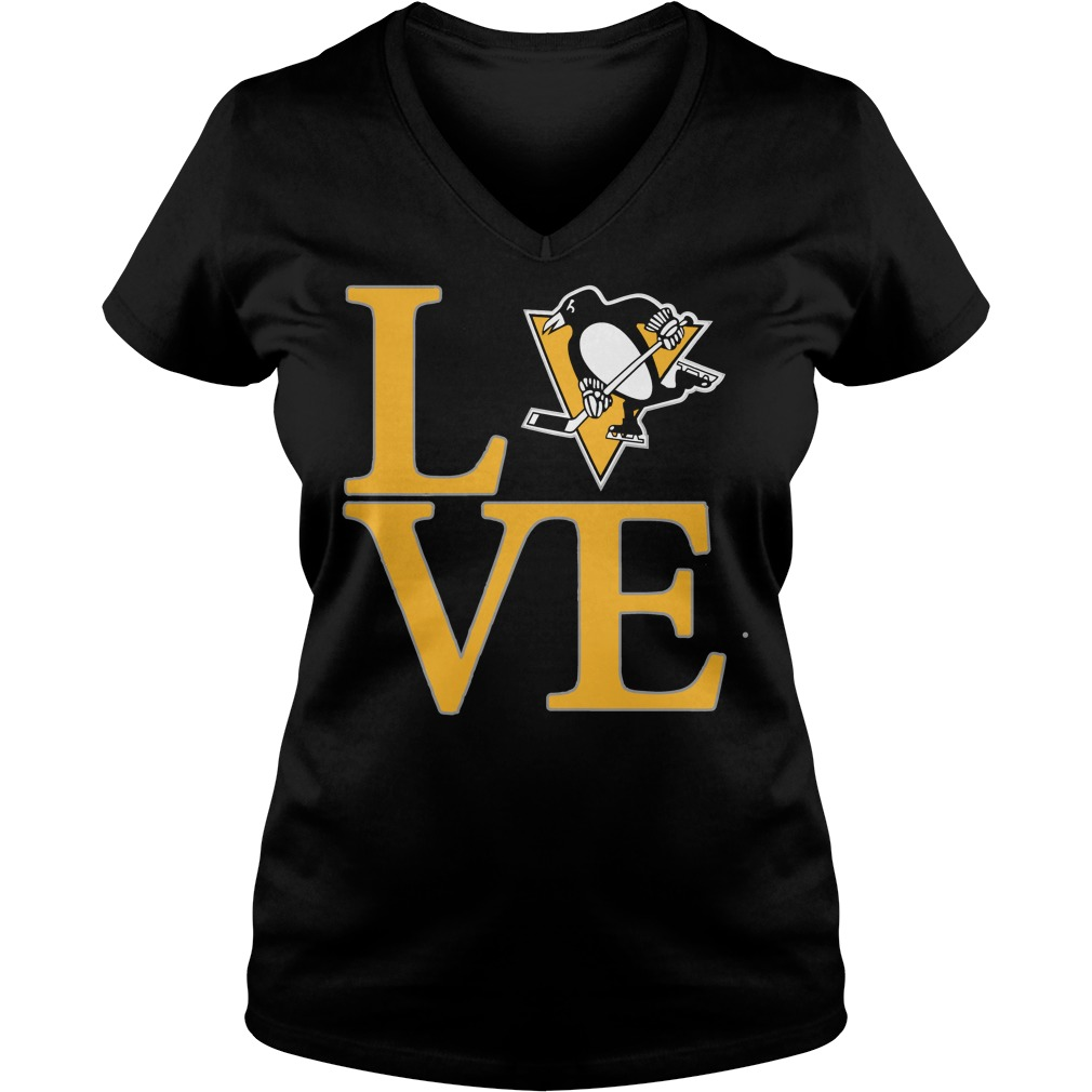 Pittsburgh Penguins Ladies V Neck