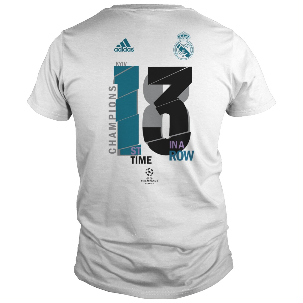 real madrid 13 champions league shirt hoodie tank top and sweater. Black Bedroom Furniture Sets. Home Design Ideas
